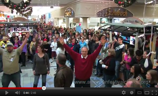 Flash Mob Musical Food Court