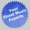 Your Sheet Music Experts!