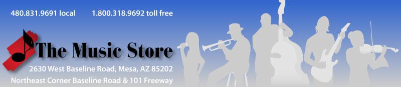 The Music Store, Baseline Rd & 101 Freeway, Mesa Az, 4808319691