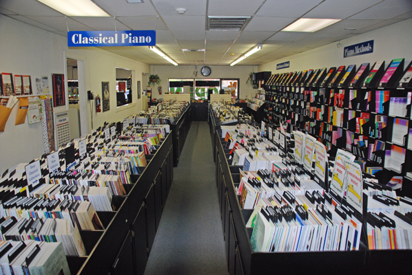Largest selection of sheet music in Arizona