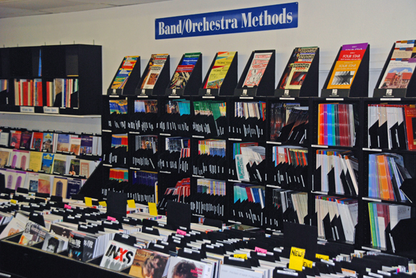 We stock all of the major band and orchestra methods