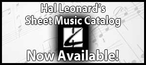 Hal Leonard Sheet Music Catalog
